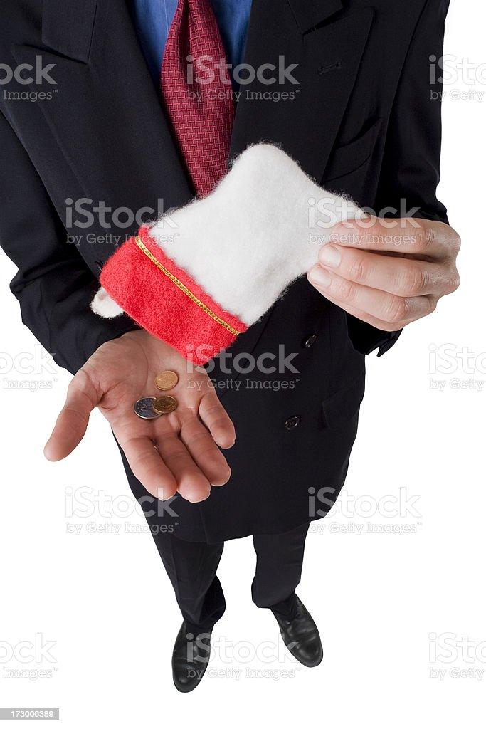 Tiny Christmas Bonus royalty-free stock photo