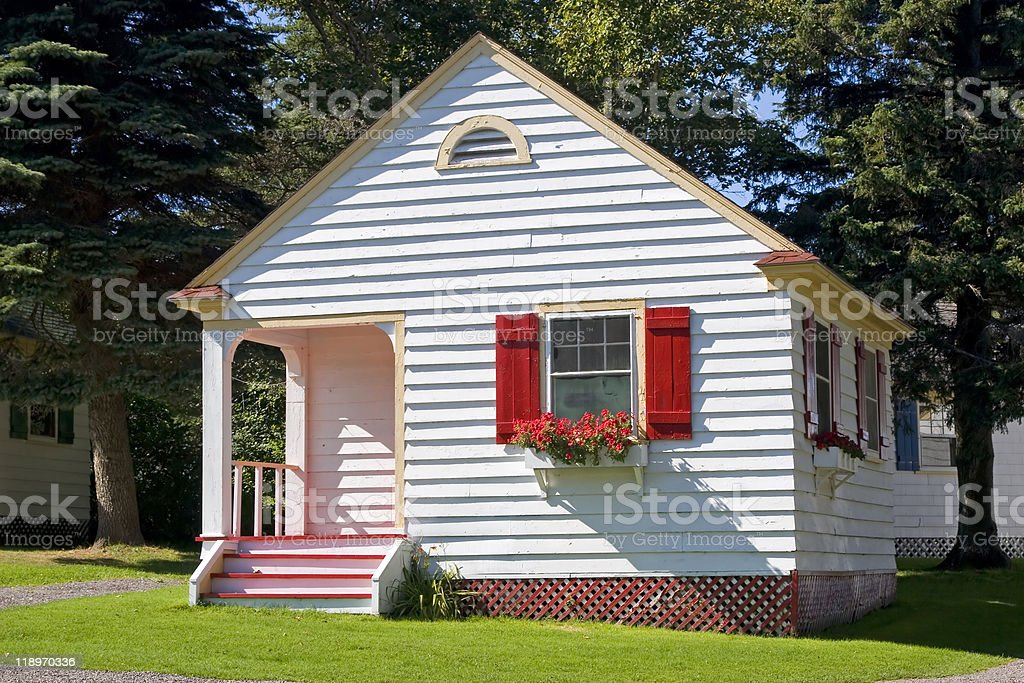 Tiny Cottage stock photo