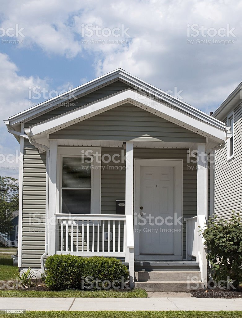 Tiny Little House stock photo