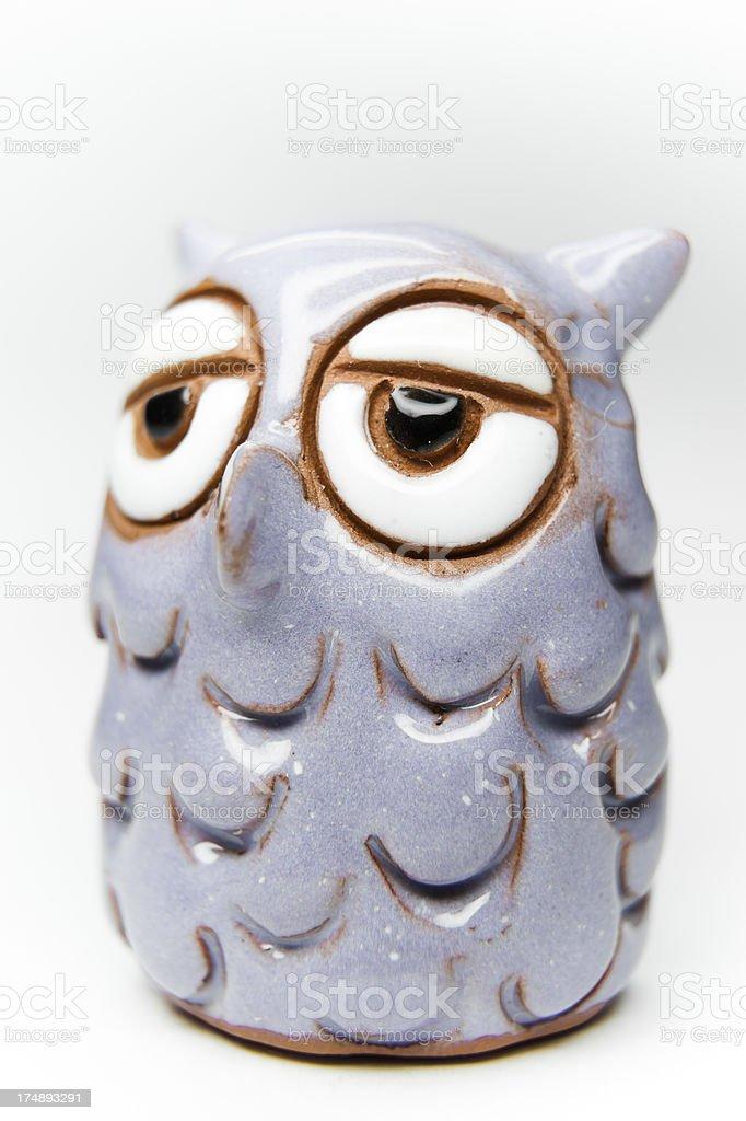 Tiny Owl stock photo