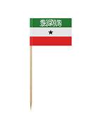Tiny Somaliland Flag on a Toothpick