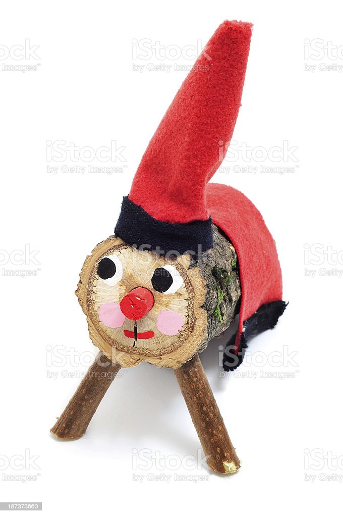 Tio de Nadal, typical of Catalonia, Spain royalty-free stock photo