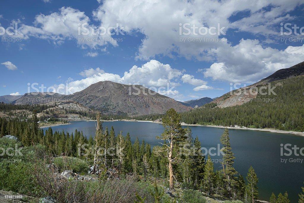 Tioga Lake stock photo