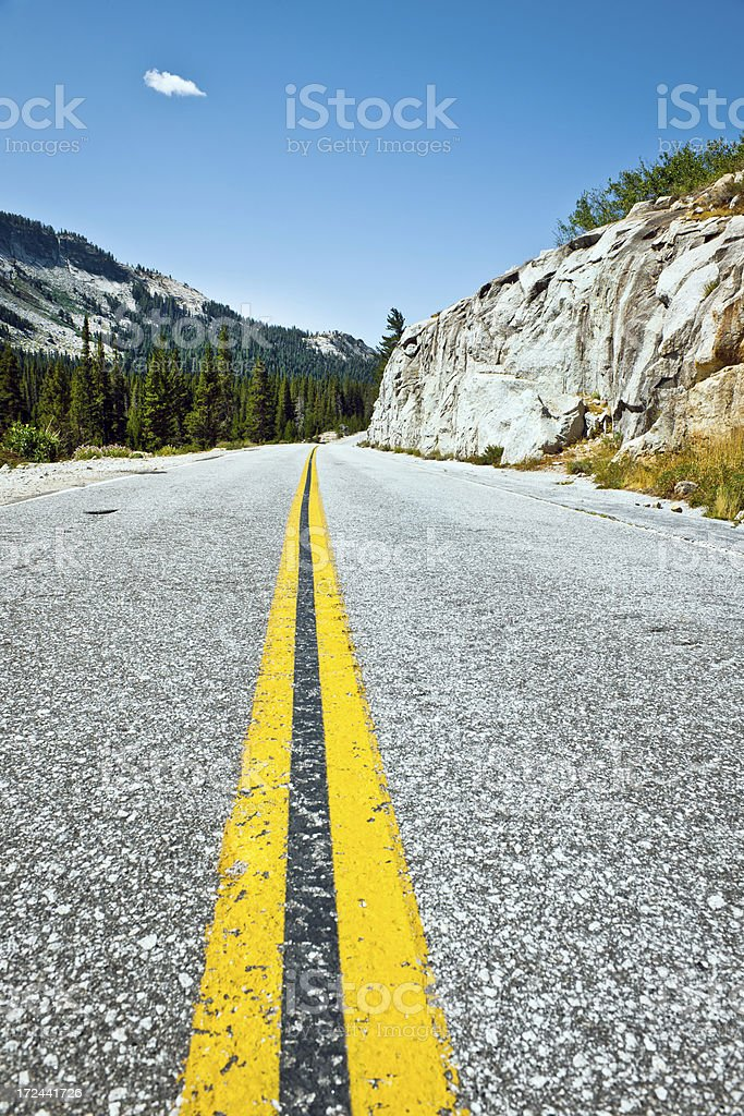 'Tioga Road, Yosemite, California, USA' stock photo
