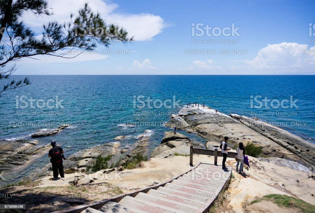 Tip of borneo in Kudat, Sabah, Borneo. stock photo