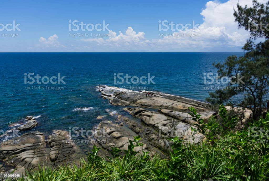 Tip Of Borneo stock photo