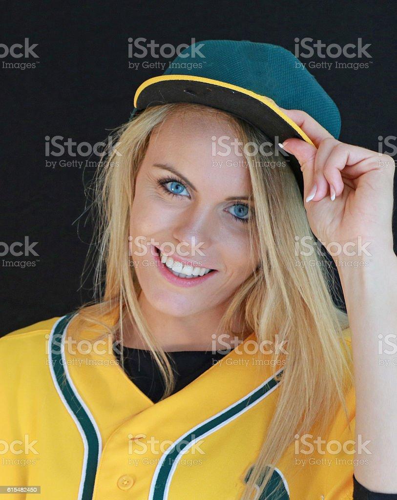 Tip of the Cap stock photo