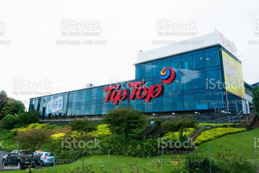 Tip Top ice cream head office in Auckland, New Zealand stock photo
