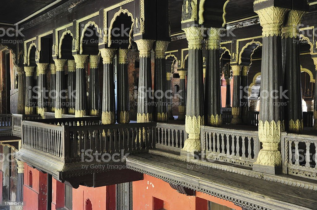 Tipu Sultan's Summer Palace royalty-free stock photo