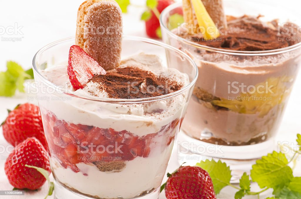 Tiramisu Dessert royalty-free stock photo