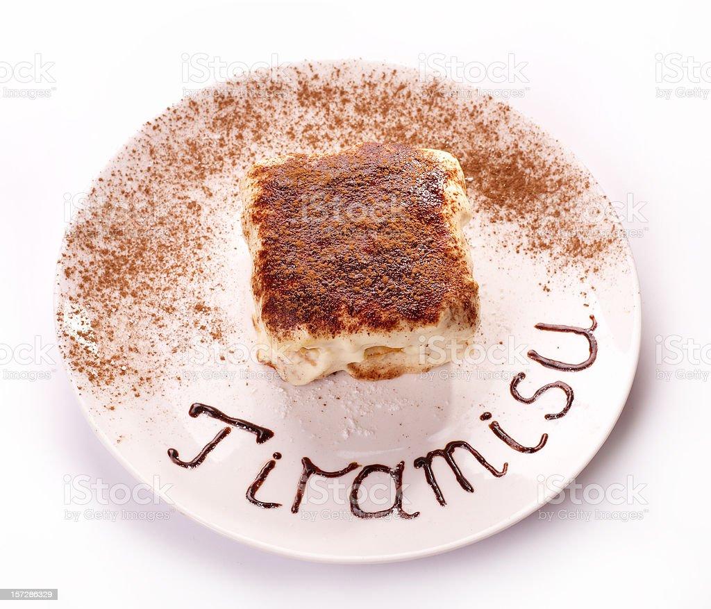 Tiramisu royalty-free stock photo