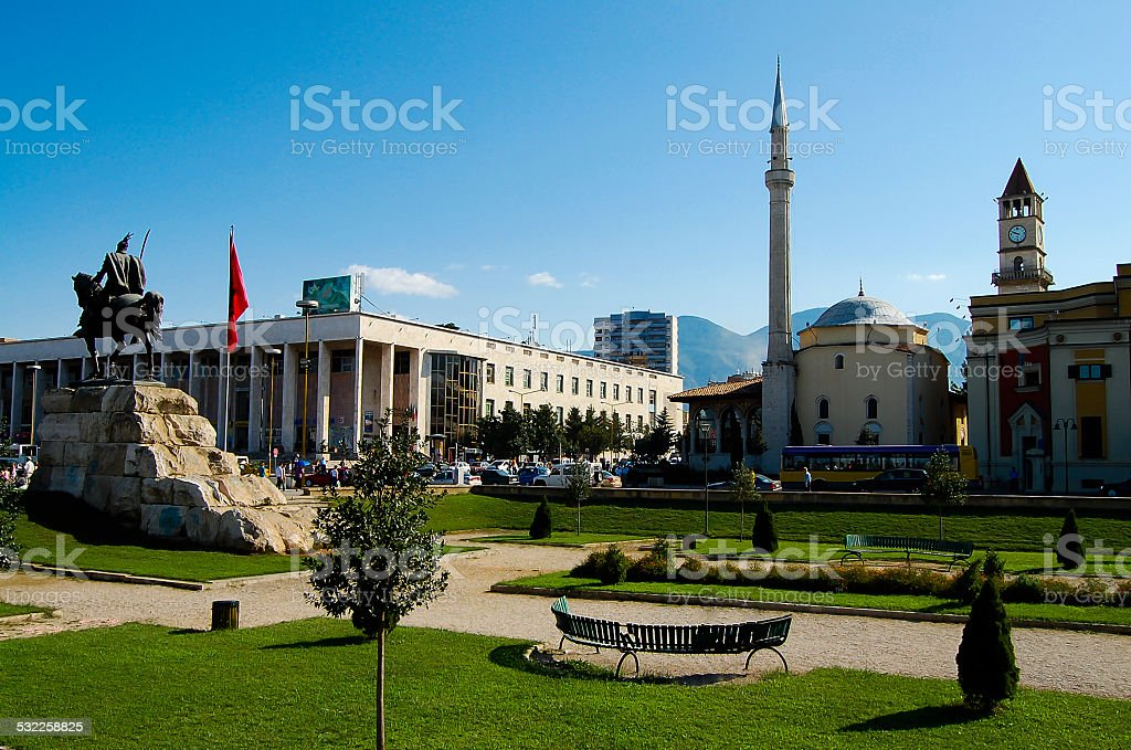 Tirana - Albania stock photo