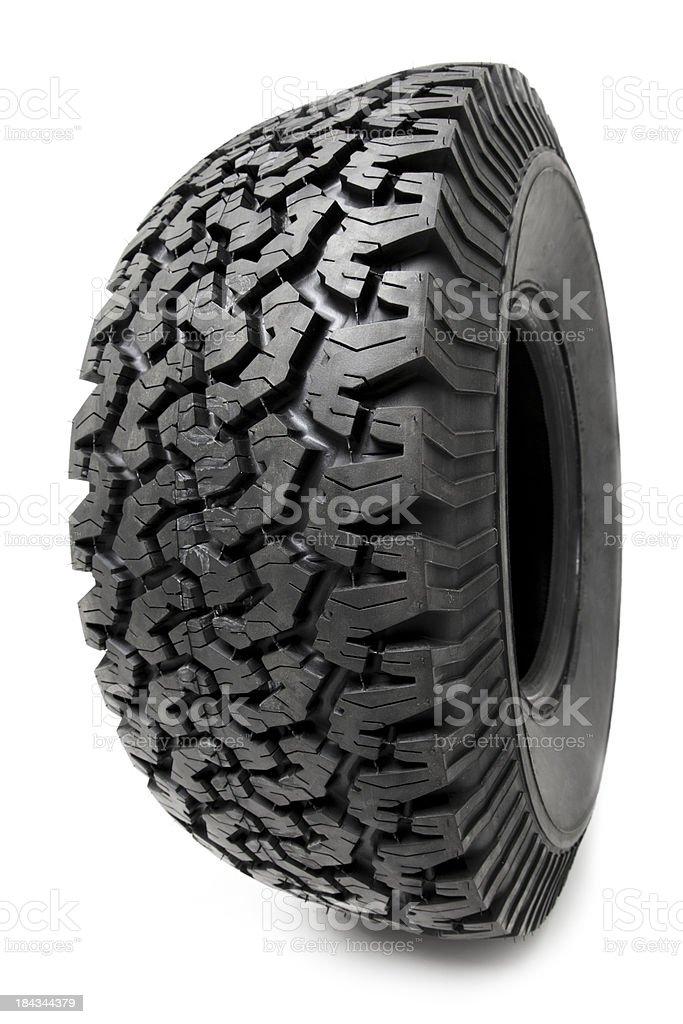Tire Isolated stock photo