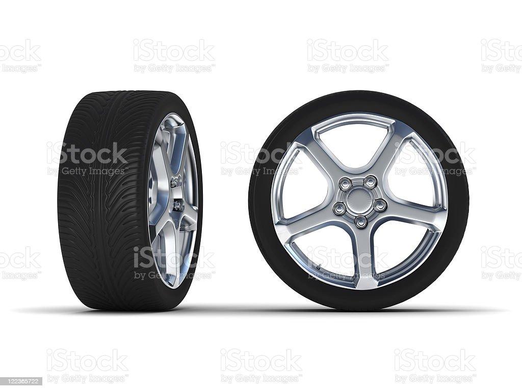 Tire royalty-free stock photo