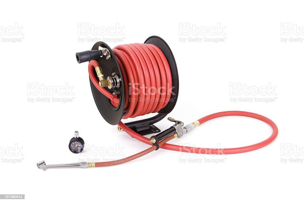 Tire Pressure stock photo