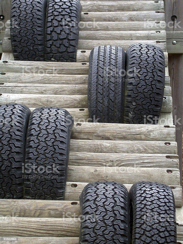 Tire Ramp 2 royalty-free stock photo