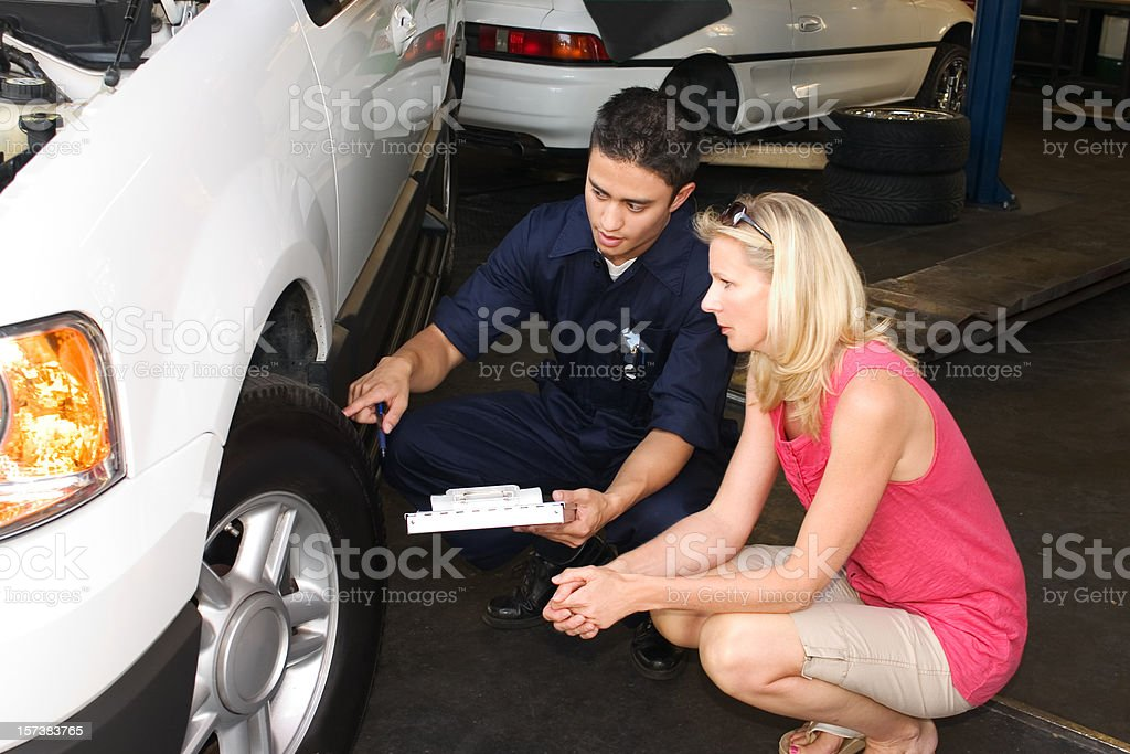 Tire Repair royalty-free stock photo