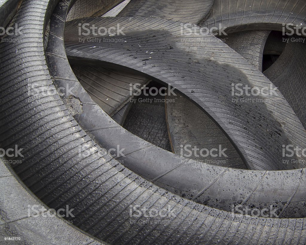 Tire Rubber royalty-free stock photo