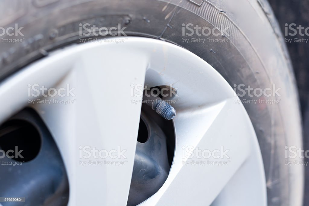 tire stoppers stock photo