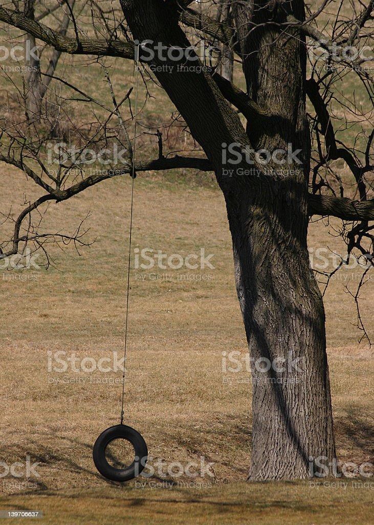 tire swing royalty-free stock photo
