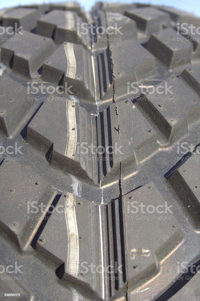Tire Threads stock photo