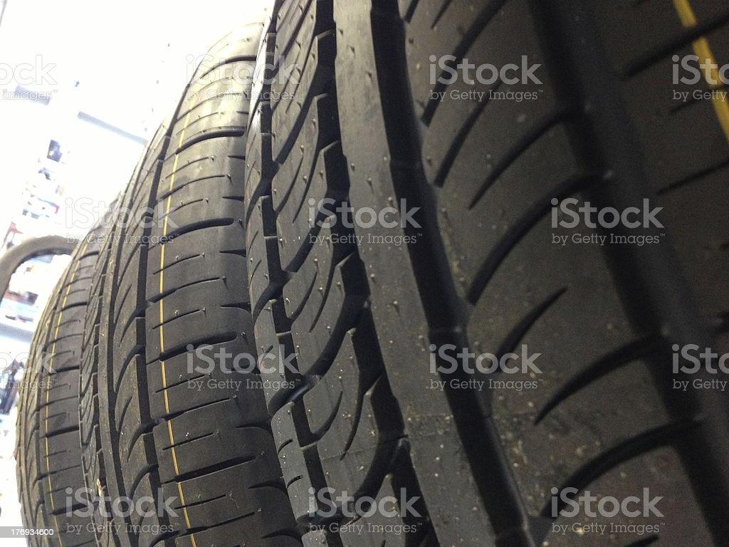 Tire tread royalty-free stock photo