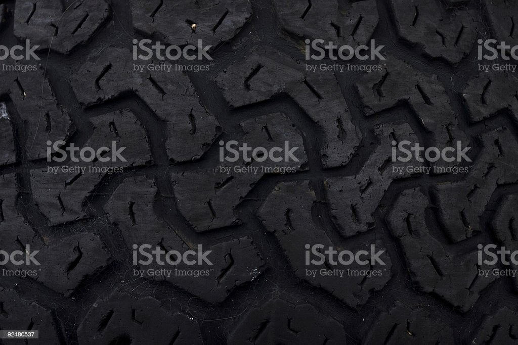 Tire tread stock photo
