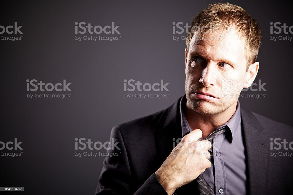 tired business men royalty-free stock photo
