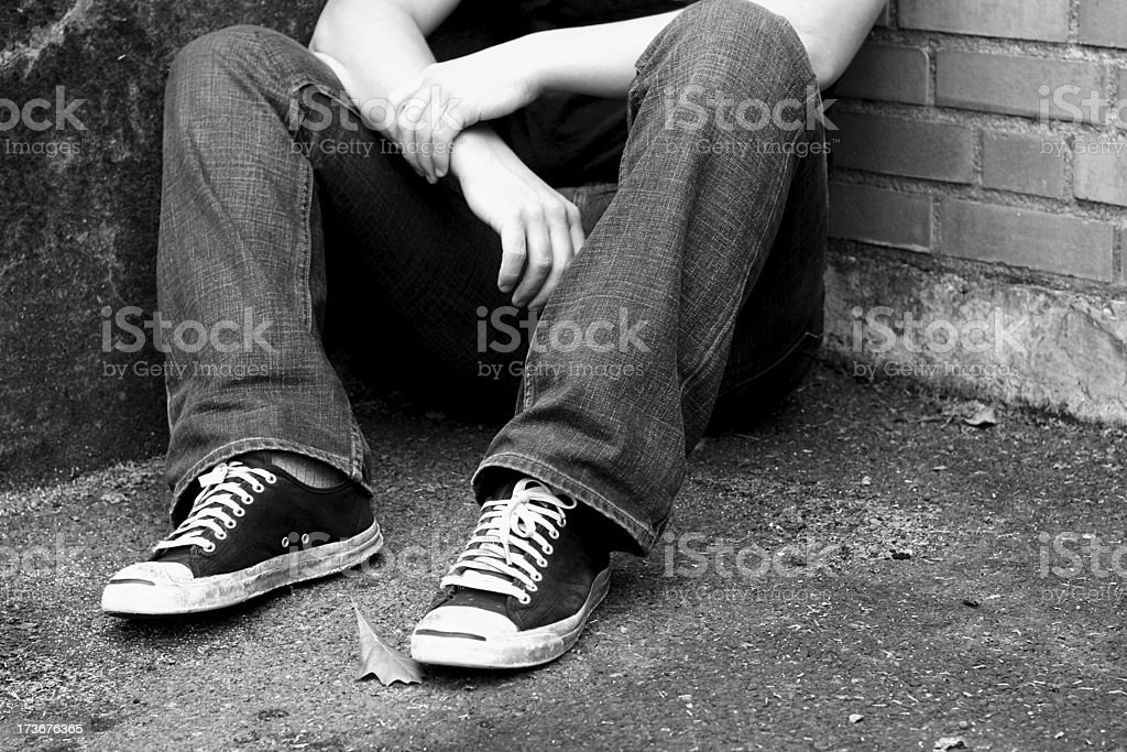 Tired Feet stock photo