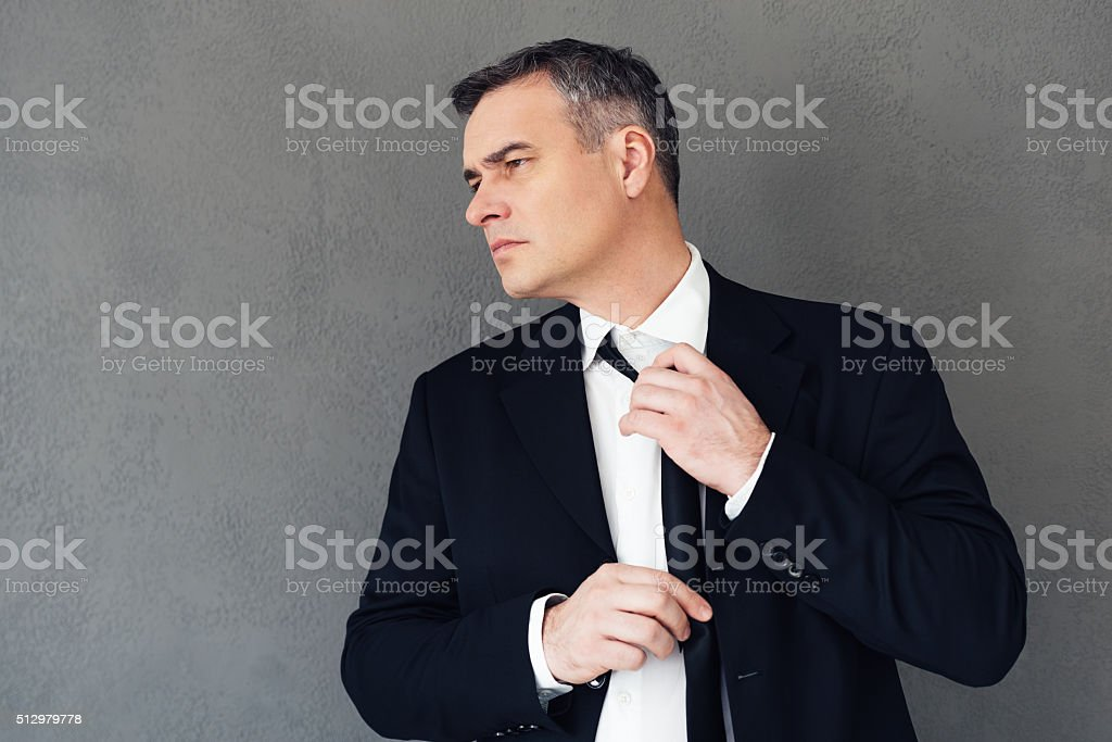 Tired from business. stock photo