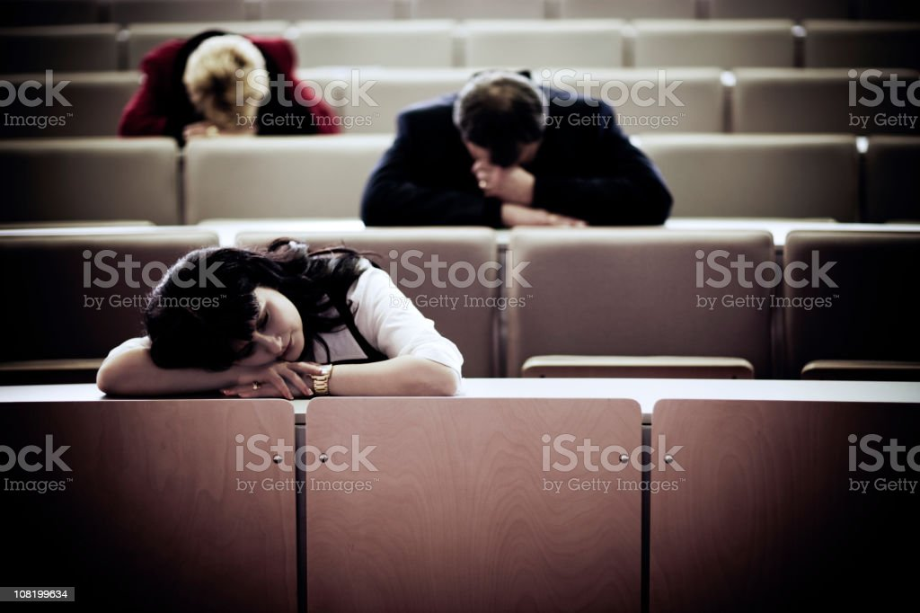Tired royalty-free stock photo