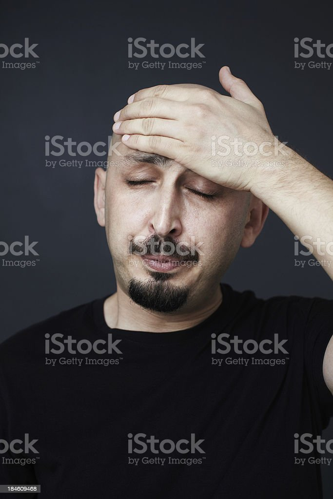 Tired stock photo