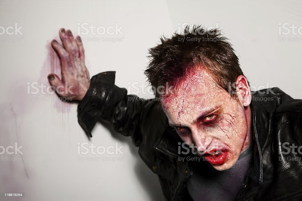 Tired Zombie royalty-free stock photo
