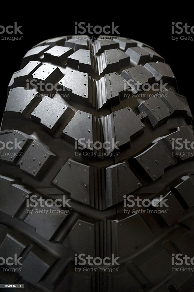 Tires Detail royalty-free stock photo