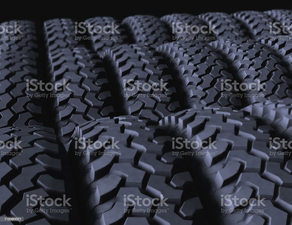 Tires on display royalty-free stock photo