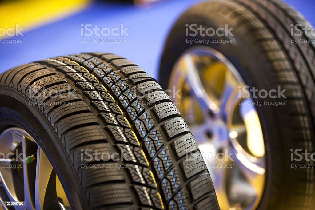Tires royalty-free stock photo