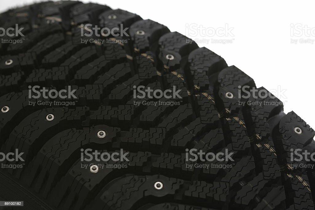 Tires trods stock photo