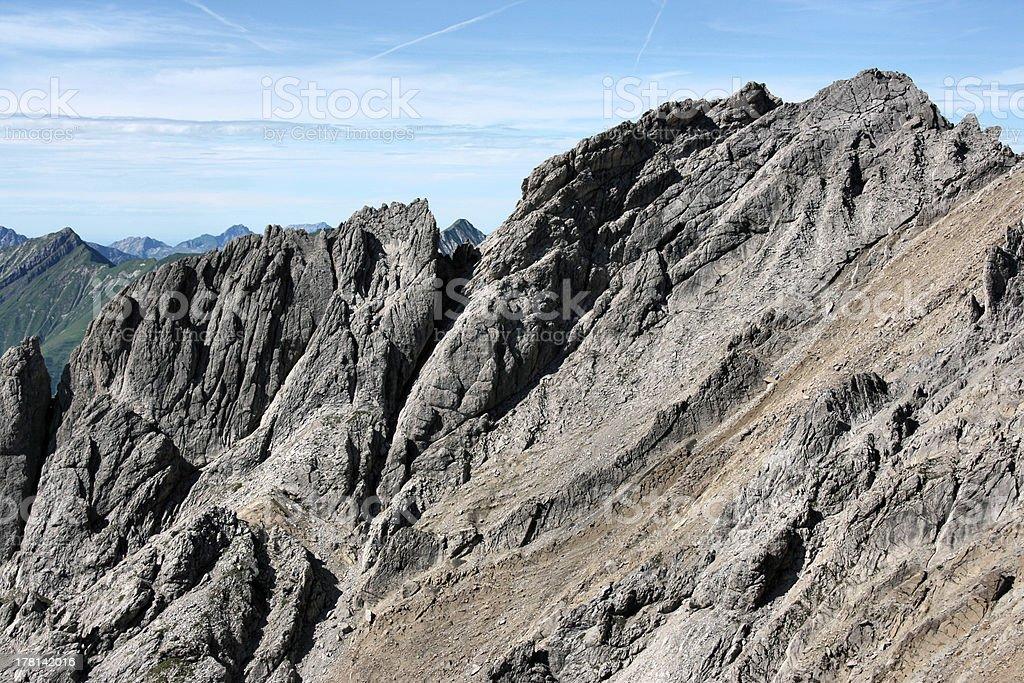 Tirol Alps stock photo