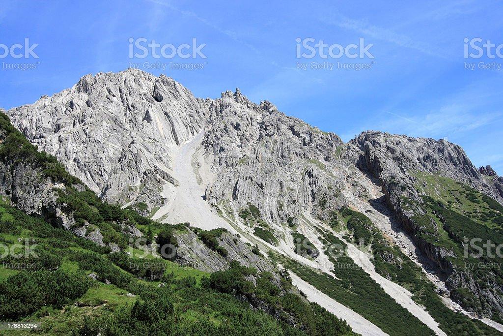 Tirol - Lechtal Alps royalty-free stock photo