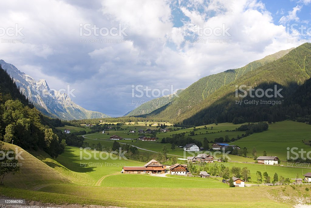 Tirol valley royalty-free stock photo
