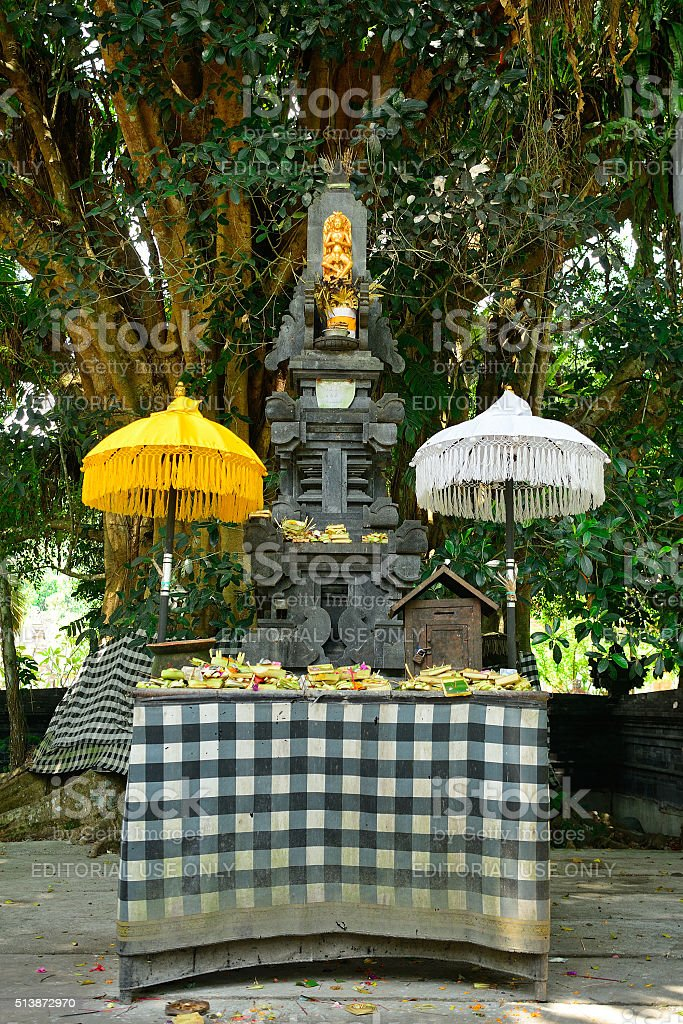 Tirta Empul Temple, Bali, Indonesia stock photo