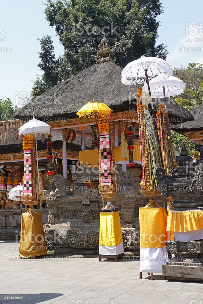 Pura Tirta Empul, Bali, Indonesia stock photo