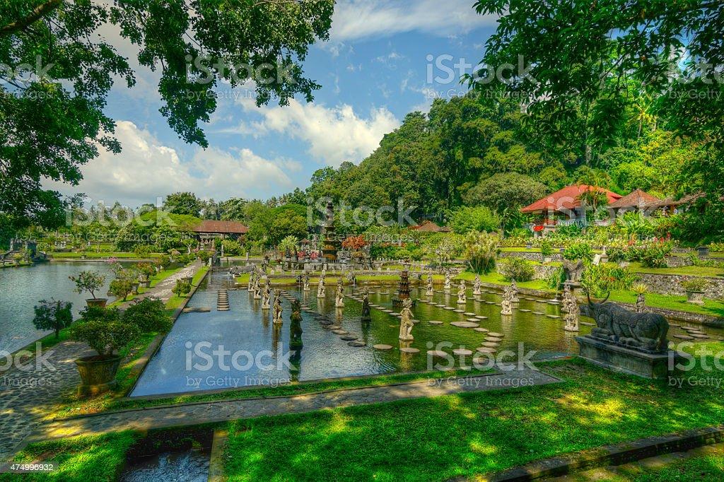 Tirta Gangga temple. stock photo