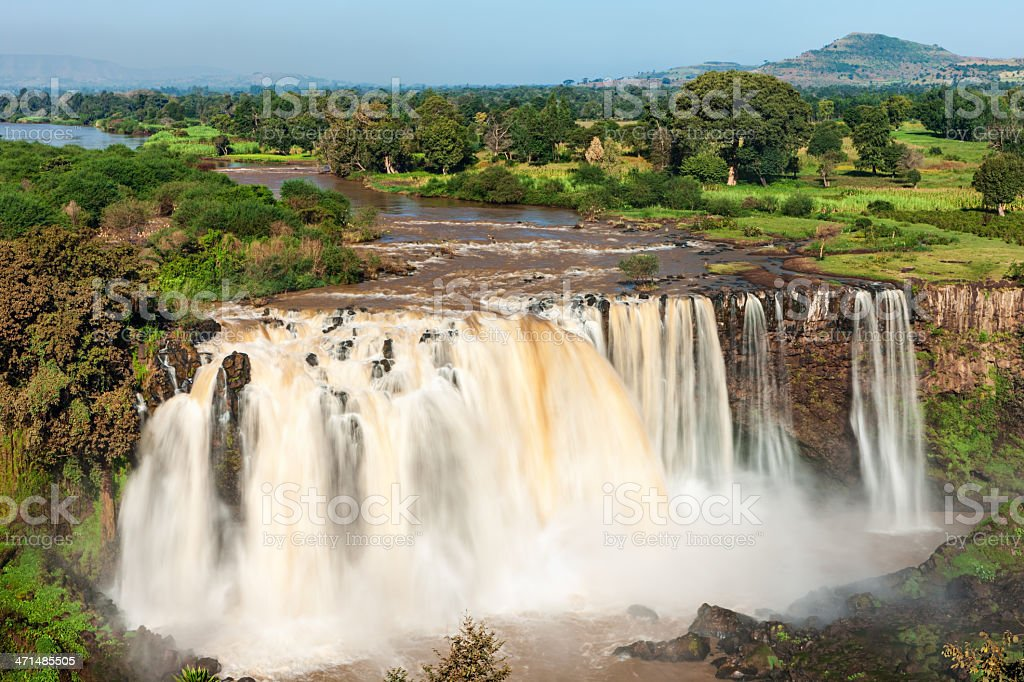 Tis Abay - Blue Nile Falls, Ethiopia, Africa royalty-free stock photo