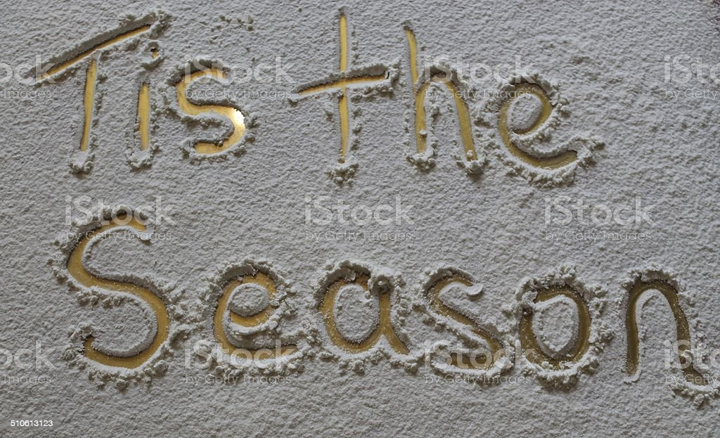 'Tis the season' stock photo