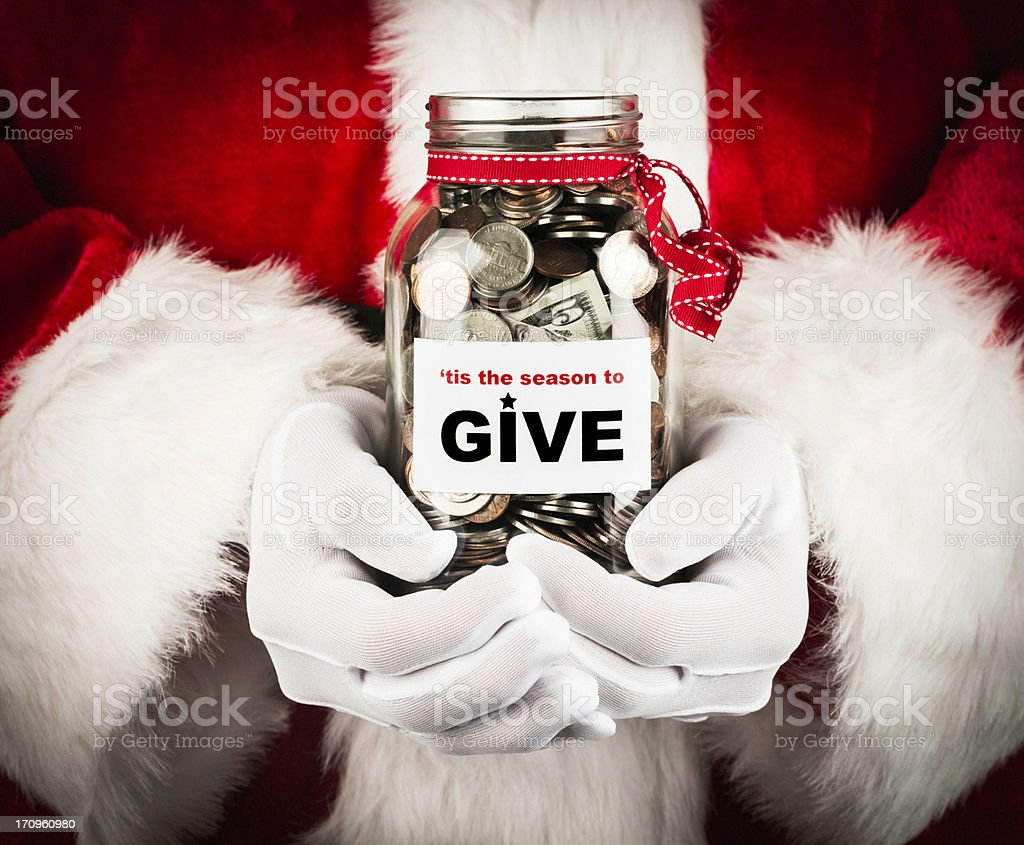 'Tis the Season to Give stock photo