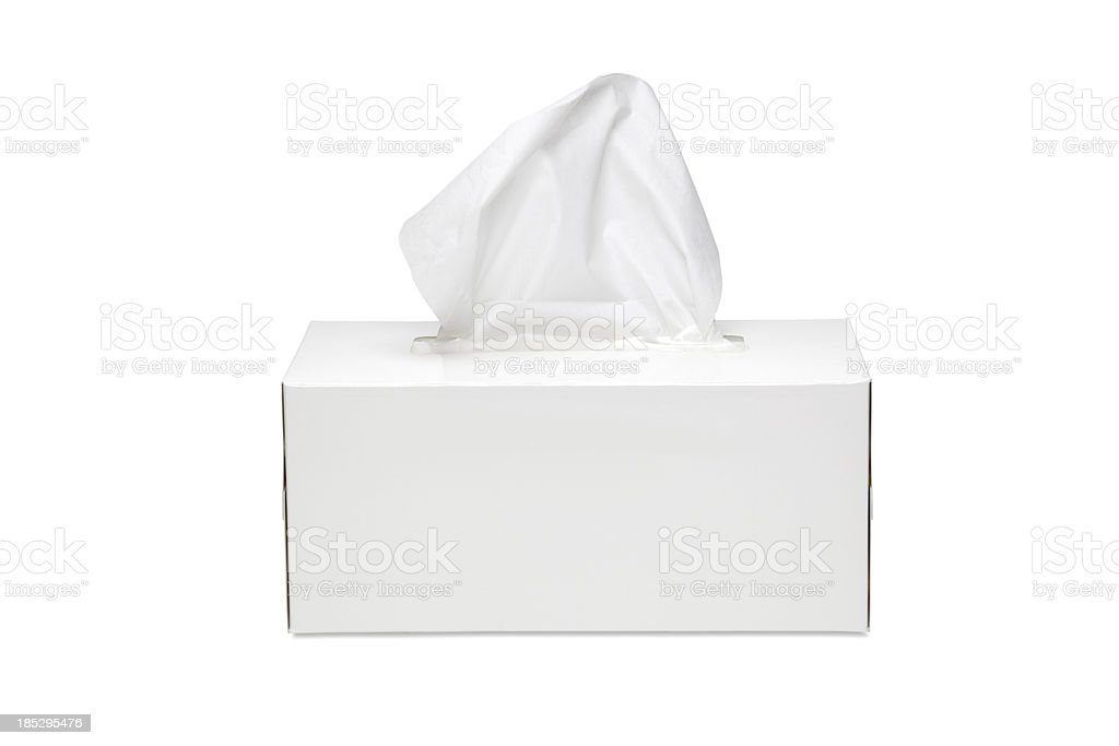 Tissue Box stock photo