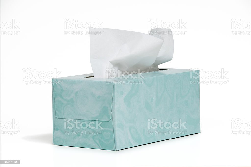 Tissue Box royalty-free stock photo