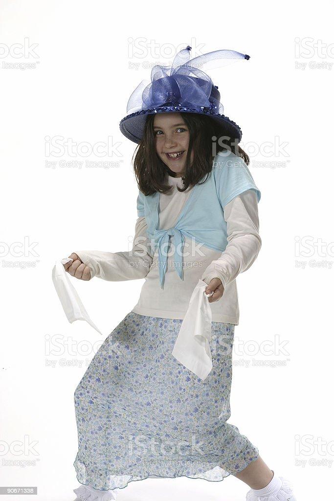 tissue dance stock photo