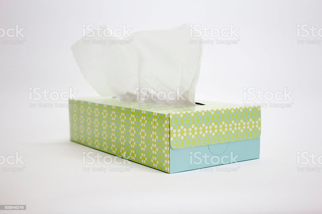 Tissue paper stock photo